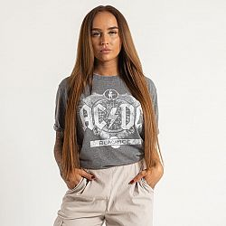 BAND TEES AC/DC Unisex Fashion Tee Black ICe (Burn Out) – S