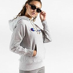 CHAMPION Šedá mikina Hooded Sweatshirt – XS